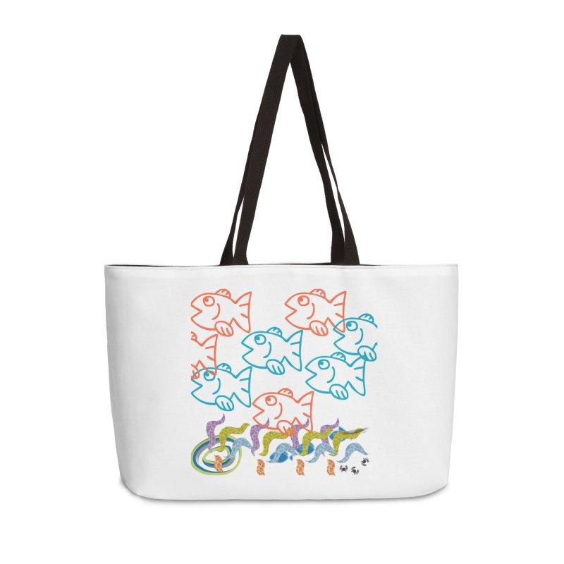 Sea Life - Nature Accessories Weekender Bag Bag by 8010az's Shop