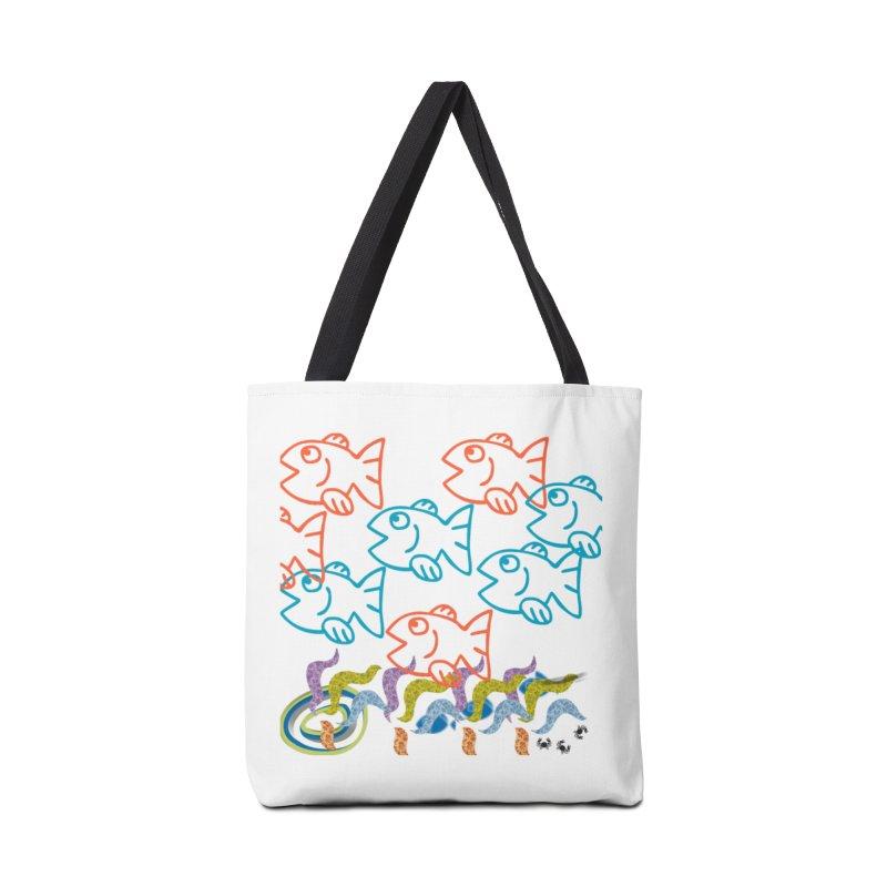 Sea Life - Nature Accessories Tote Bag Bag by 8010az's Shop