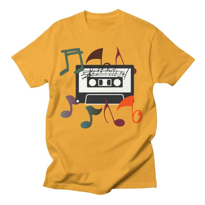 Vintage Music Men's T-Shirt by 8010az's Shop