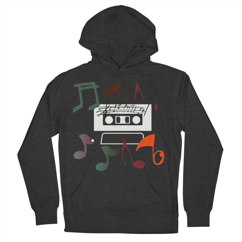 Vintage Music Women's French Terry Pullover Hoody by 8010az's Shop
