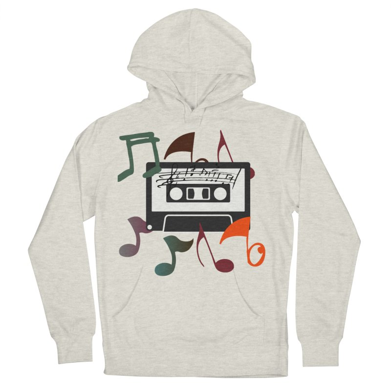 Vintage Music Men's French Terry Pullover Hoody by 8010az's Shop