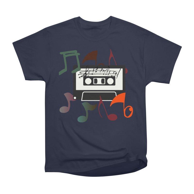 Vintage Music Men's Heavyweight T-Shirt by 8010az's Shop