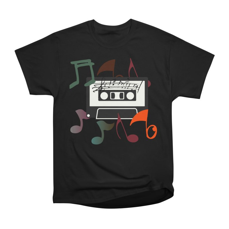 Vintage Music Women's Heavyweight Unisex T-Shirt by 8010az's Shop
