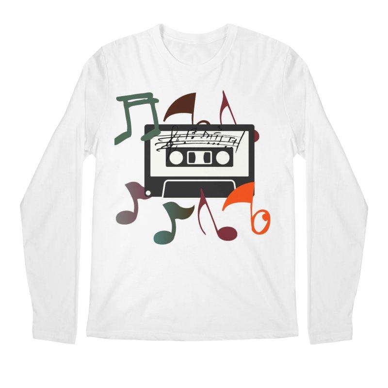 Vintage Music Men's Regular Longsleeve T-Shirt by 8010az's Shop