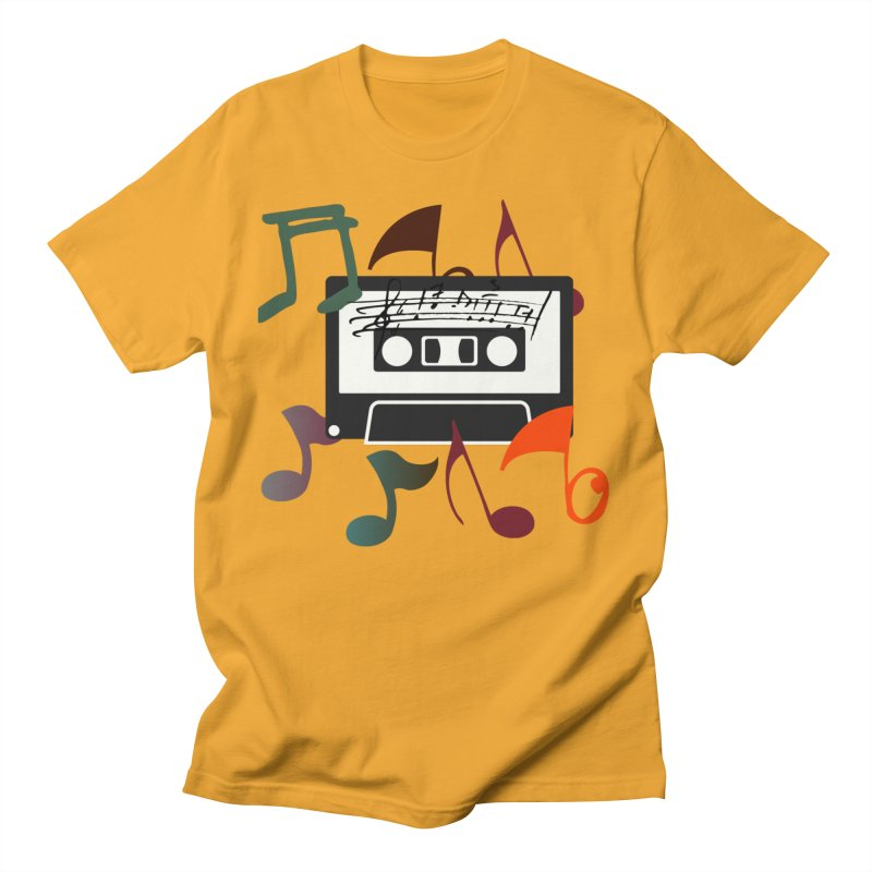 Vintage Music Men's T-Shirt by 8010az's Shop