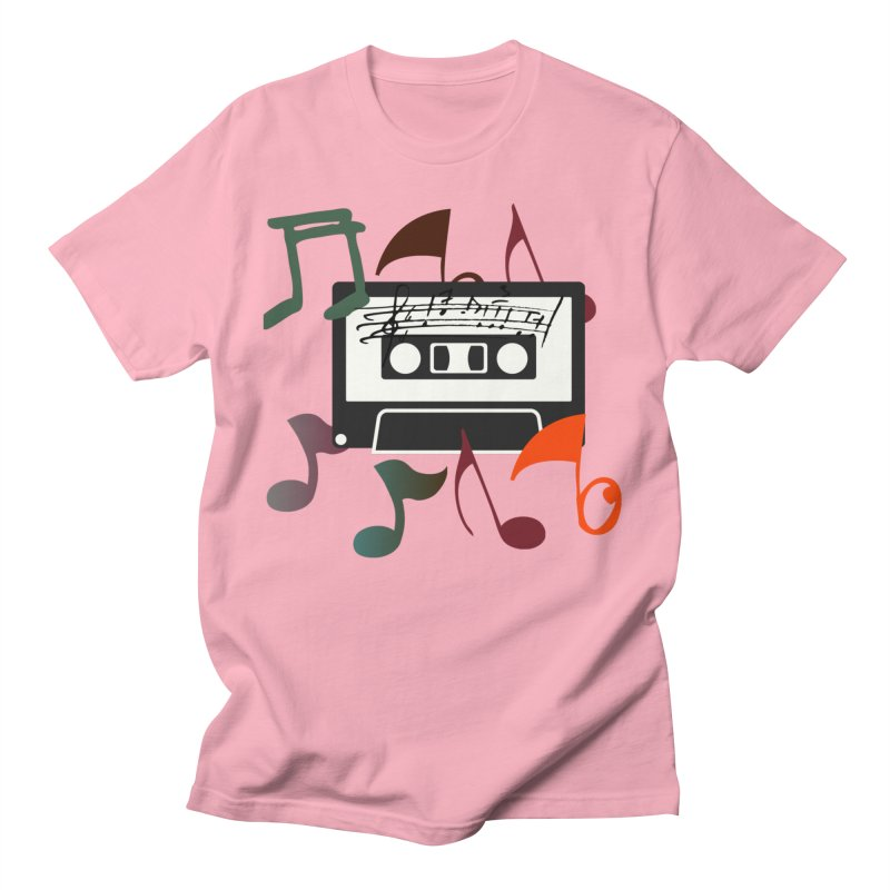 Vintage Music Men's Regular T-Shirt by 8010az's Shop