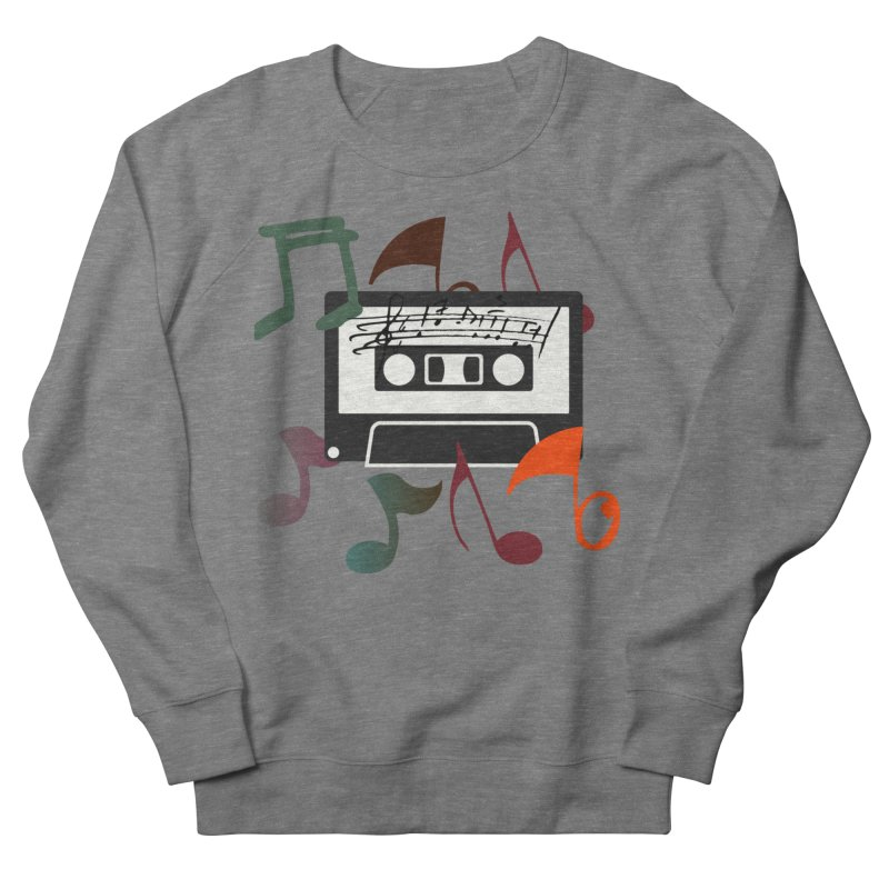 Vintage Music Women's French Terry Sweatshirt by 8010az's Shop