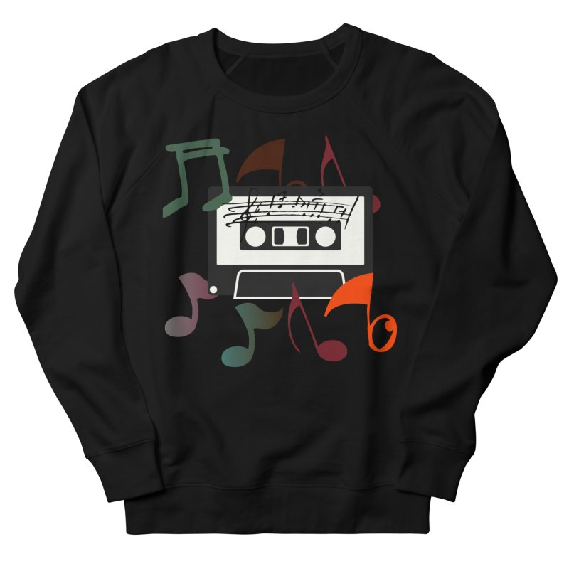 Vintage Music Women's French Terry Sweatshirt by 8010az's Shop