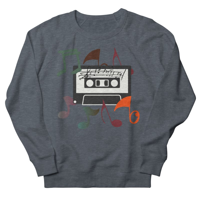 Vintage Music Men's French Terry Sweatshirt by 8010az's Shop