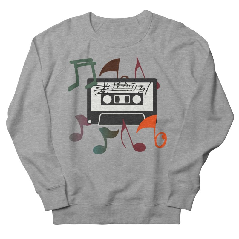 Vintage Music Men's French Terry Sweatshirt by 8010az's Shop