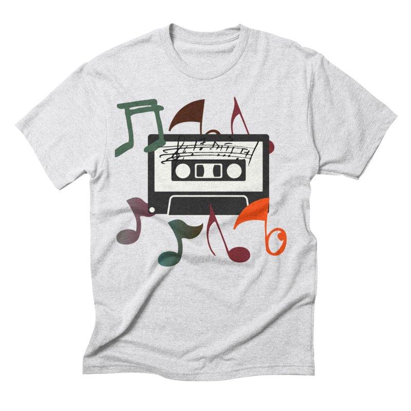 Vintage Music Men's Triblend T-Shirt by 8010az's Shop