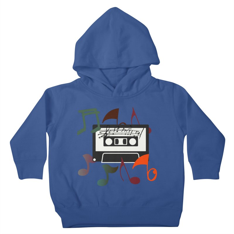 Vintage Music Kids Toddler Pullover Hoody by 8010az's Shop