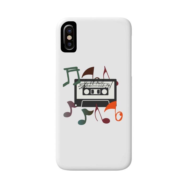 Vintage Music Accessories Phone Case by 8010az's Shop