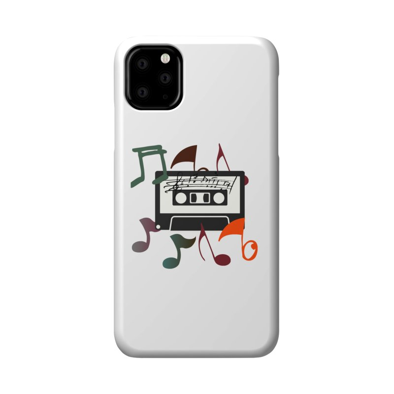Vintage Music Accessories Phone Case by 8010az's Shop