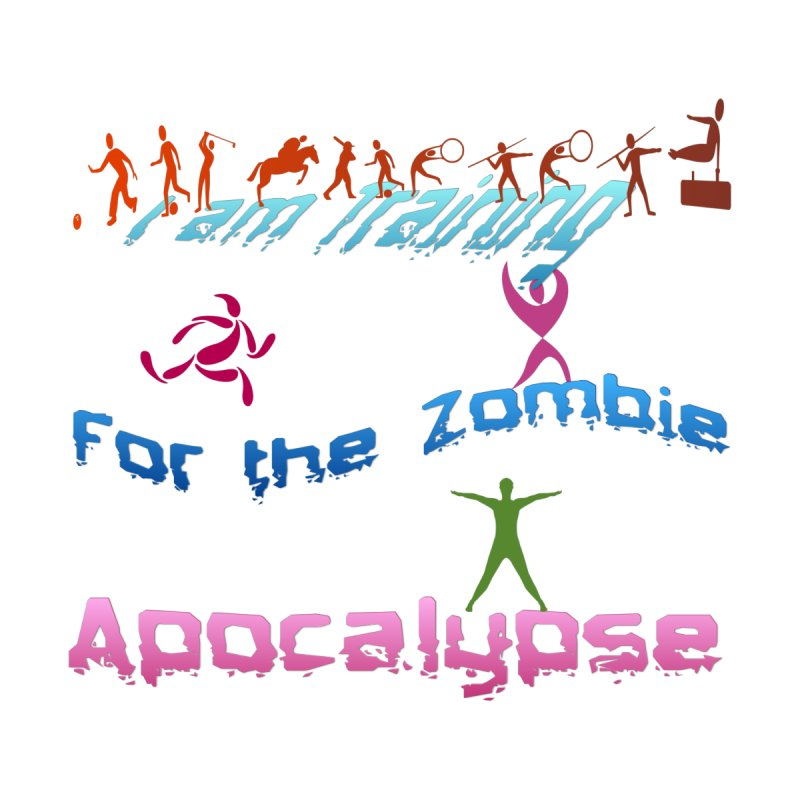 Fitness For The Zombie Apocalypse Men's T-Shirt by 8010az's Shop