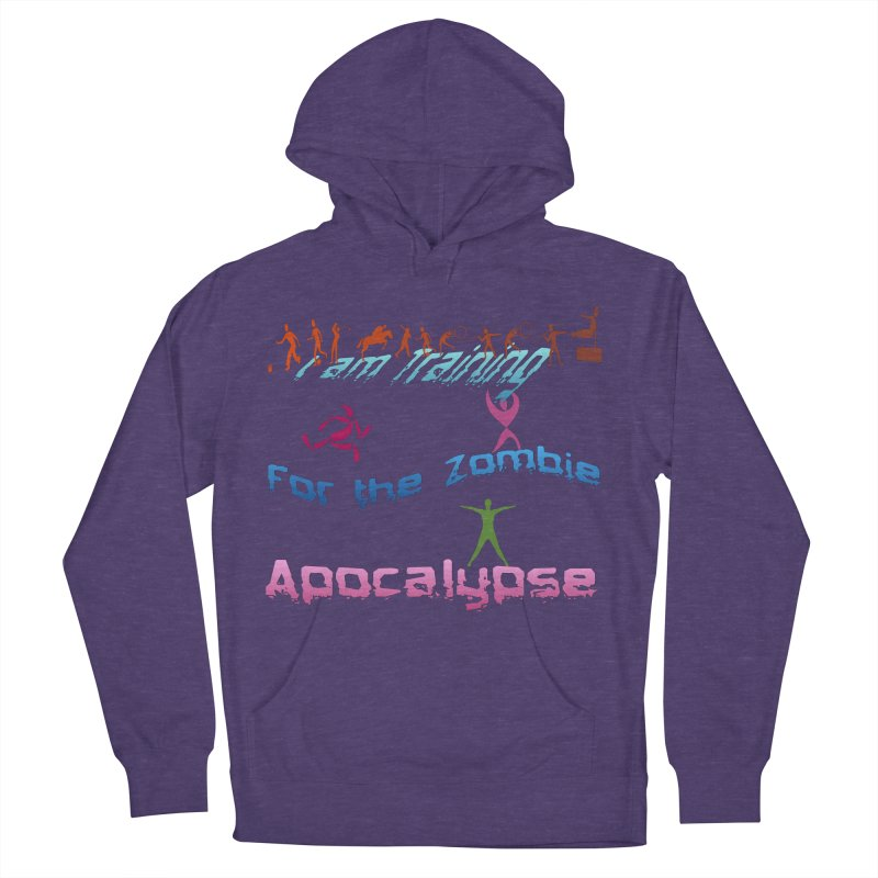 Fitness For The Zombie Apocalypse Men's French Terry Pullover Hoody by 8010az's Shop