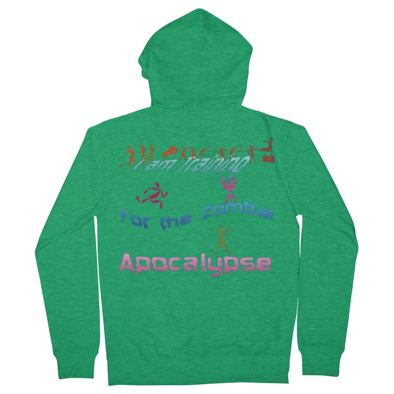 Fitness For The Zombie Apocalypse Women's Zip-Up Hoody by 8010az's Shop