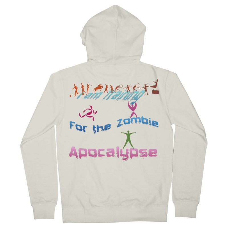 Fitness For The Zombie Apocalypse Women's French Terry Zip-Up Hoody by 8010az's Shop