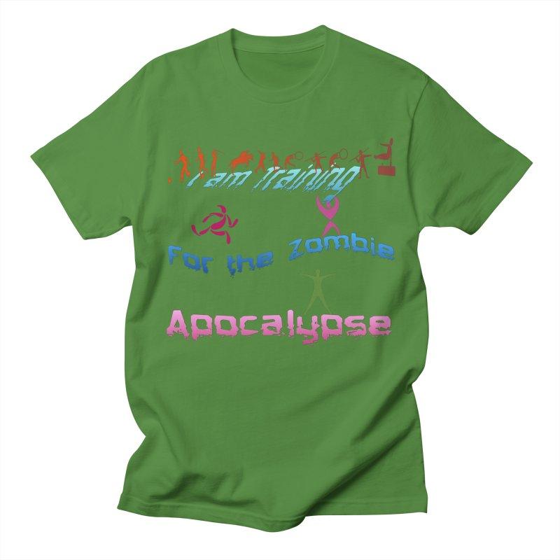 Fitness For The Zombie Apocalypse Women's Regular Unisex T-Shirt by 8010az's Shop