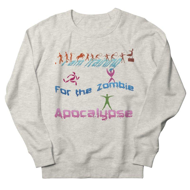 Fitness For The Zombie Apocalypse Women's French Terry Sweatshirt by 8010az's Shop