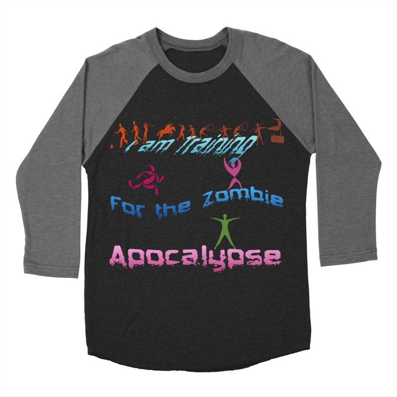 Fitness For The Zombie Apocalypse Women's Baseball Triblend Longsleeve T-Shirt by 8010az's Shop