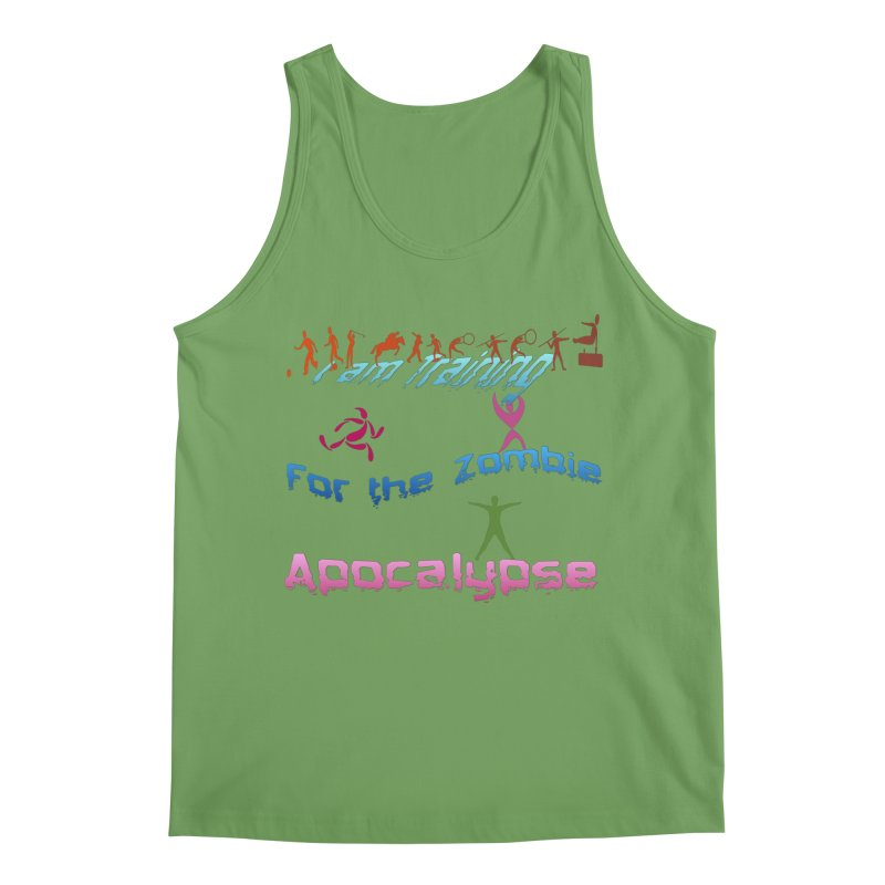 Fitness For The Zombie Apocalypse Men's Tank by 8010az's Shop