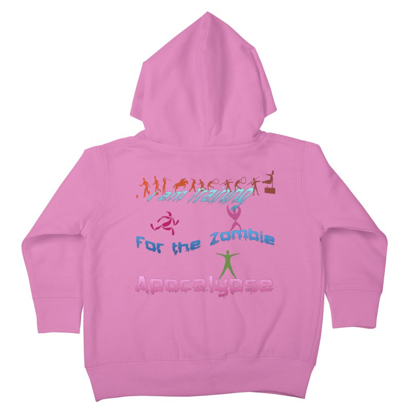 Fitness For The Zombie Apocalypse Kids Toddler Zip-Up Hoody by 8010az's Shop
