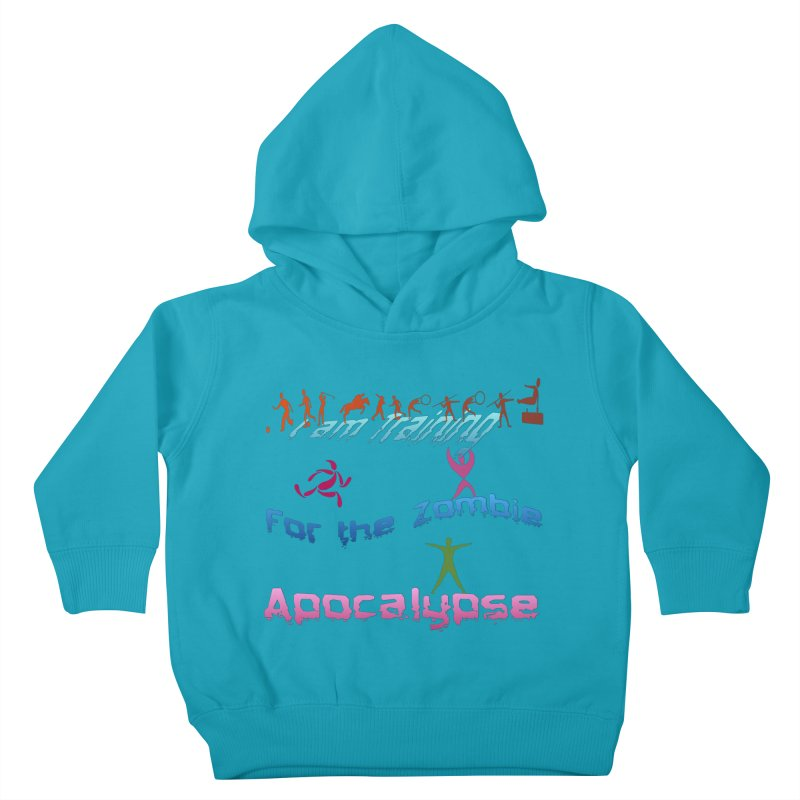 Fitness For The Zombie Apocalypse Kids Toddler Pullover Hoody by 8010az's Shop