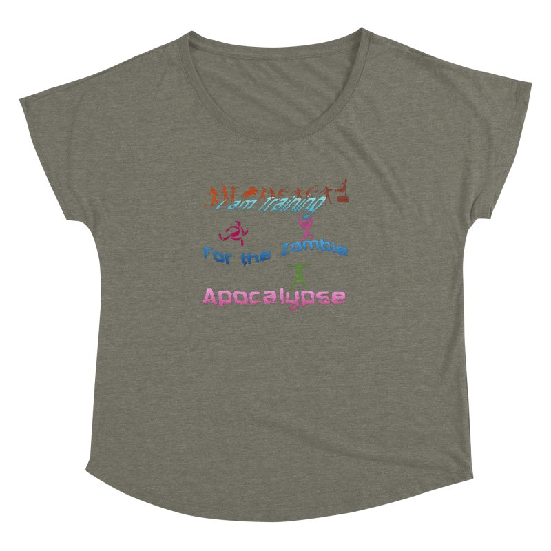 Fitness For The Zombie Apocalypse Women's Dolman Scoop Neck by 8010az's Shop
