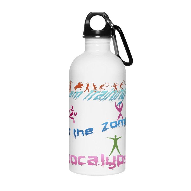 Fitness For The Zombie Apocalypse Accessories Water Bottle by 8010az's Shop