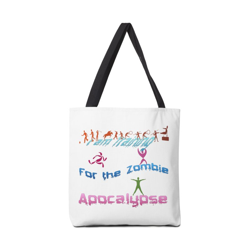 Fitness For The Zombie Apocalypse Accessories Bag by 8010az's Shop