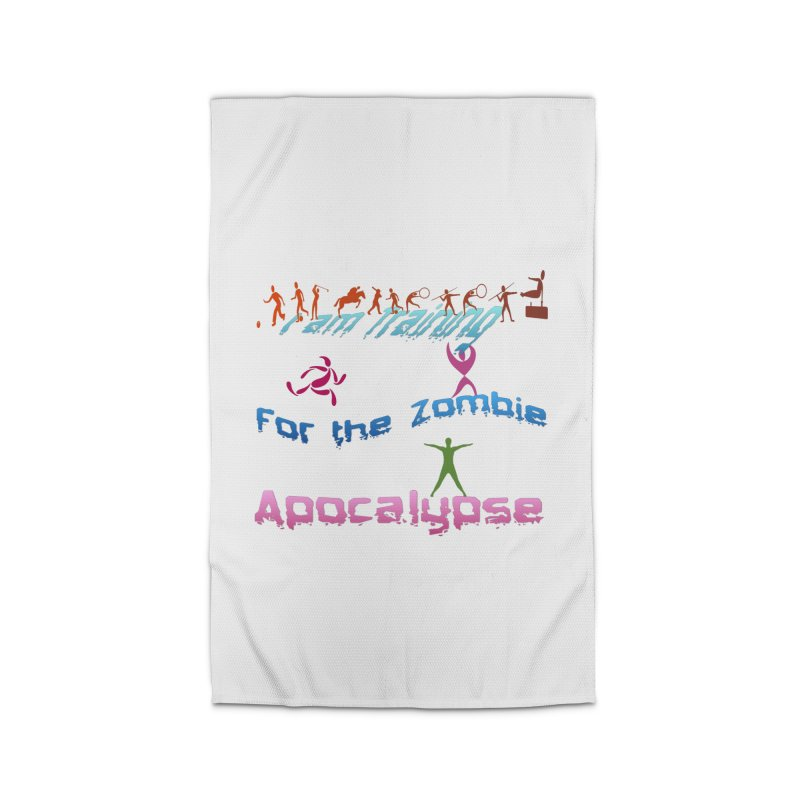 Fitness For The Zombie Apocalypse Home Rug by 8010az's Shop