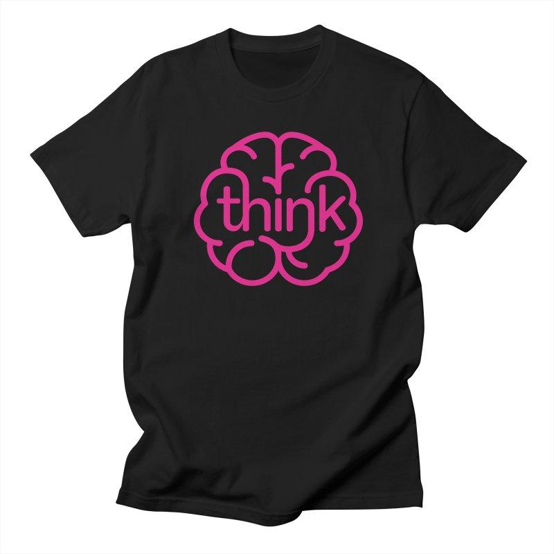 think Men's T-Shirt by 804jason's Artist Shop