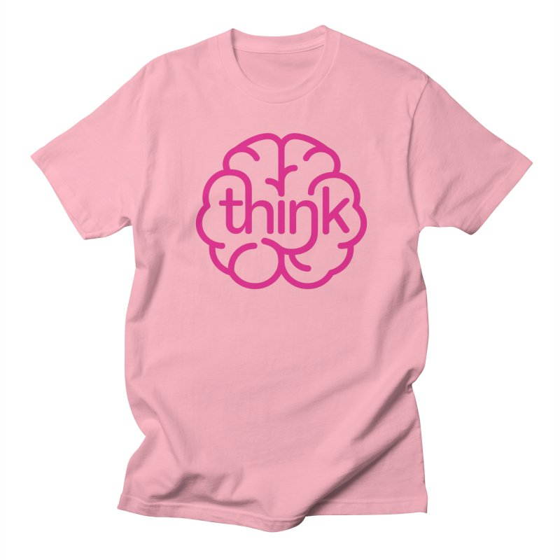 think Men's T-shirt by 804jason's Artist Shop