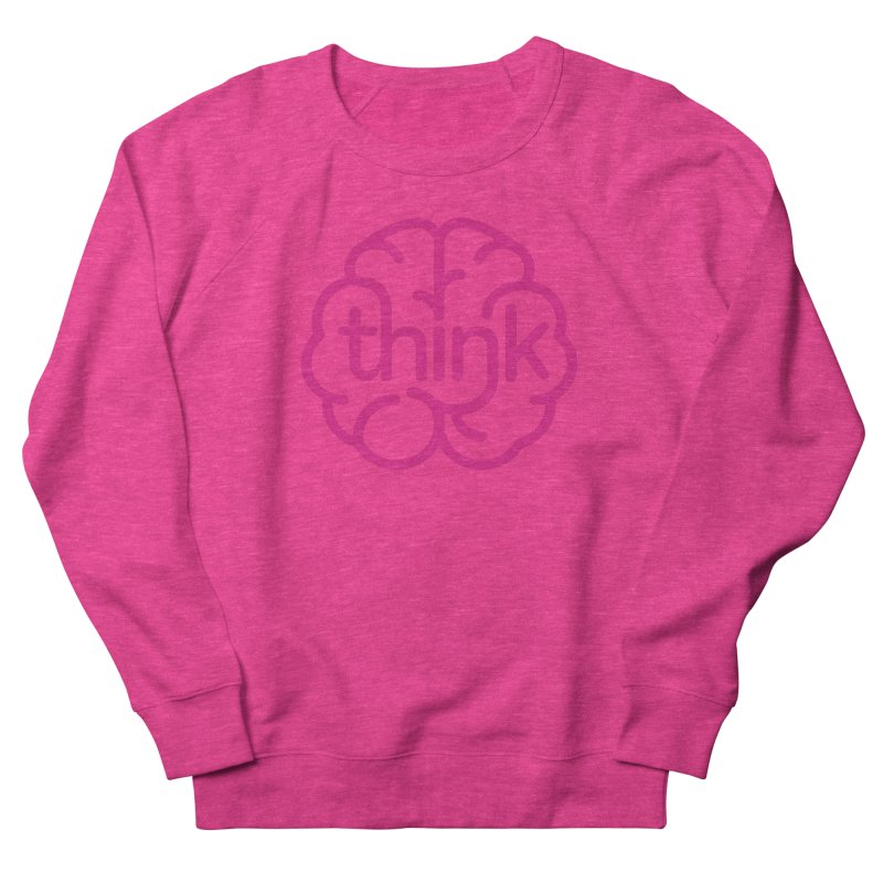 think Men's Sweatshirt by 804jason's Artist Shop