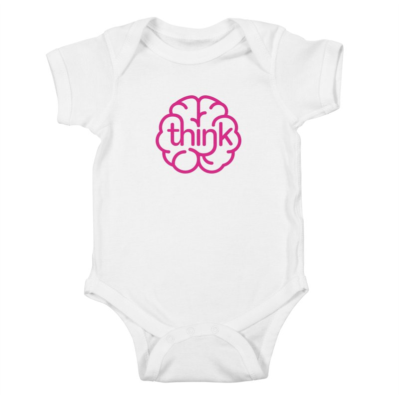think Kids Baby Bodysuit by 804jason's Artist Shop