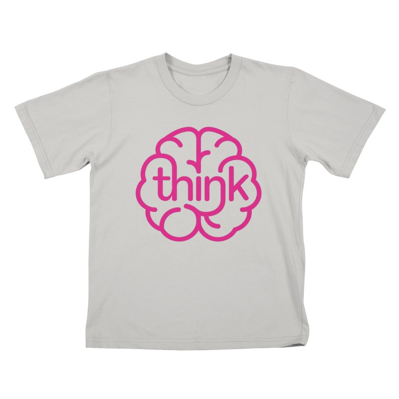 think Kids T-shirt by 804jason's Artist Shop