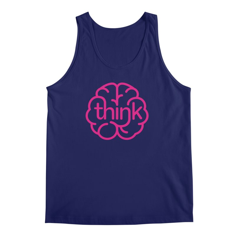think Men's Tank by 804jason's Artist Shop