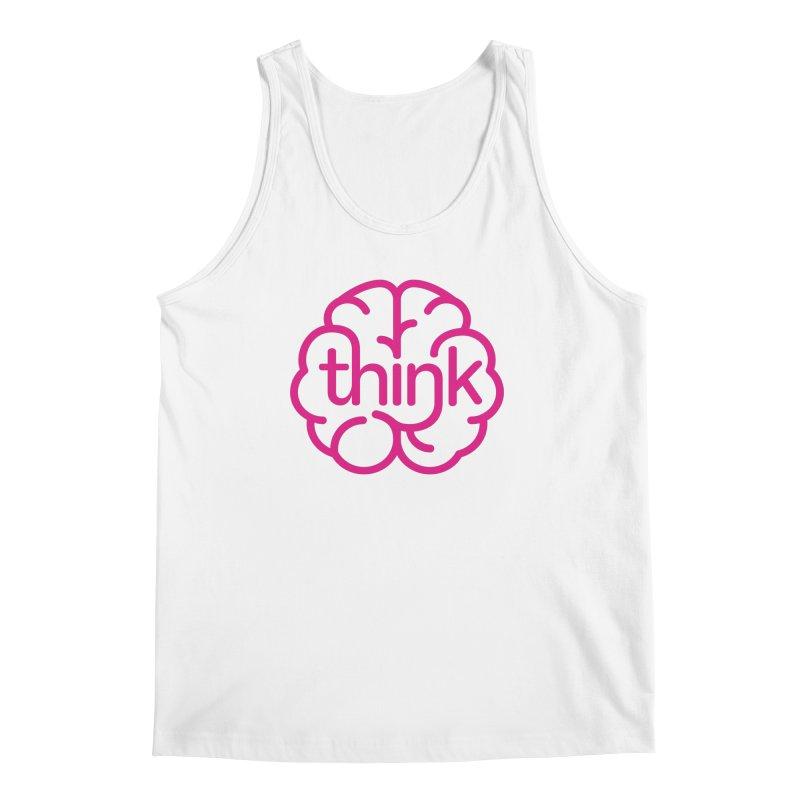 think Men's Tank by 804jason's Artist Shop