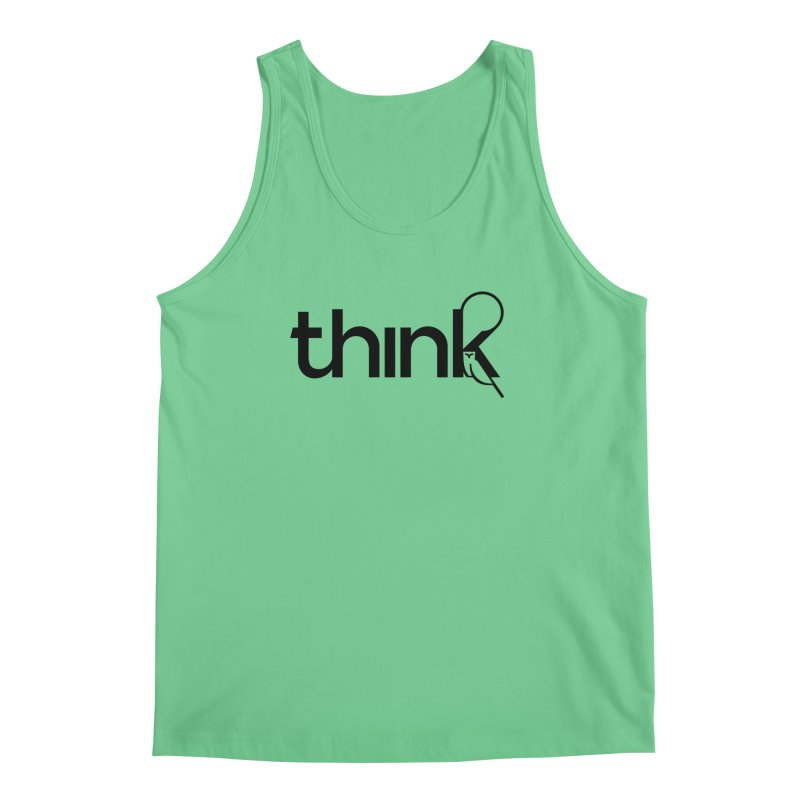 think outside Men's Tank by 804jason's Artist Shop