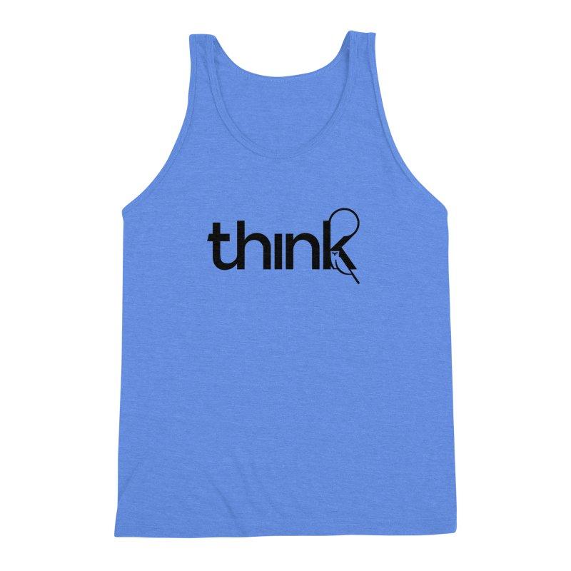 think outside Men's Triblend Tank by 804jason's Artist Shop