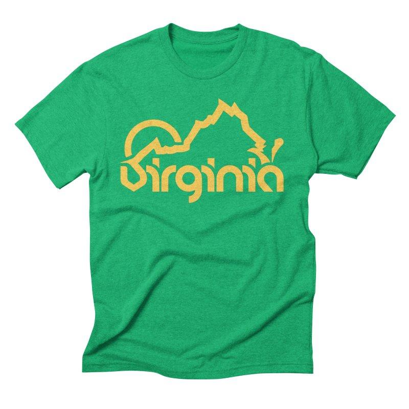 Virginia Men's Triblend T-Shirt by 804jason's Artist Shop