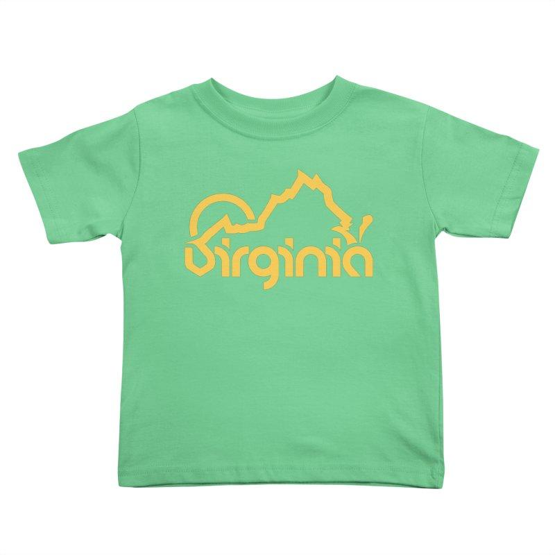 Virginia Kids Toddler T-Shirt by 804jason's Artist Shop