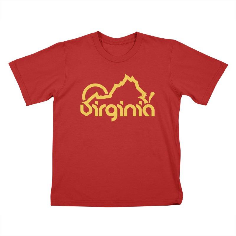 Virginia Kids T-shirt by 804jason's Artist Shop
