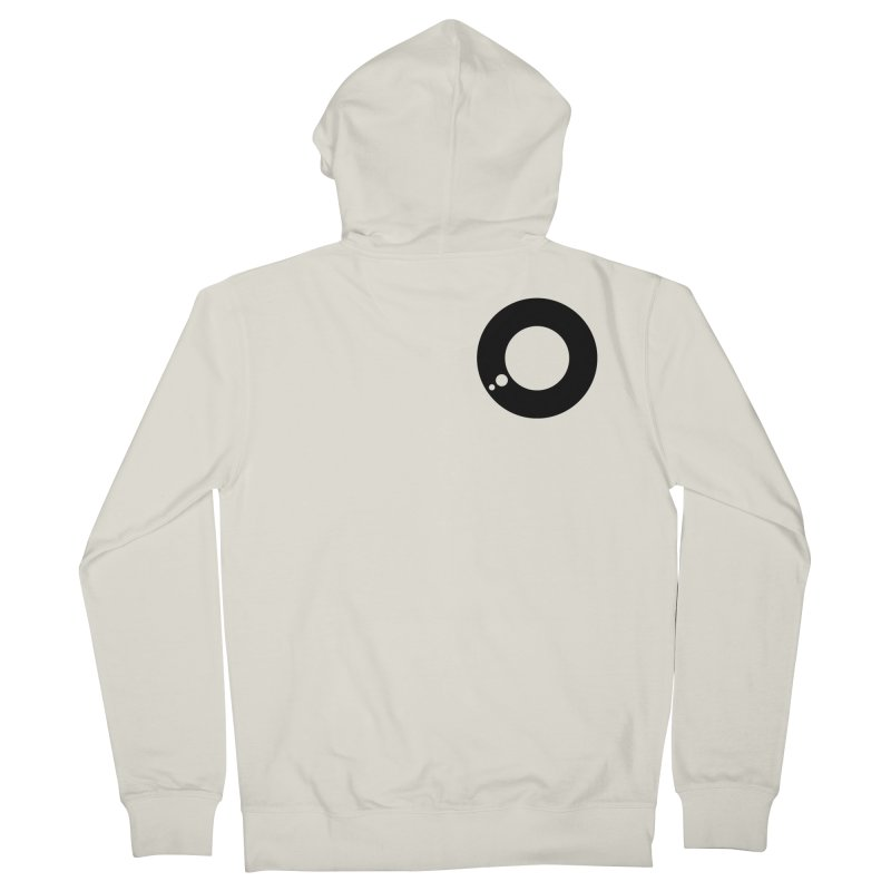 Think icon Men's Zip-Up Hoody by 804jason's Artist Shop