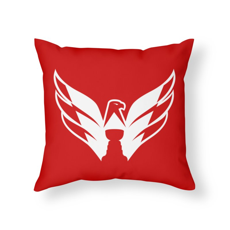 Eagle Cup Home Throw Pillow by 804jason's Artist Shop