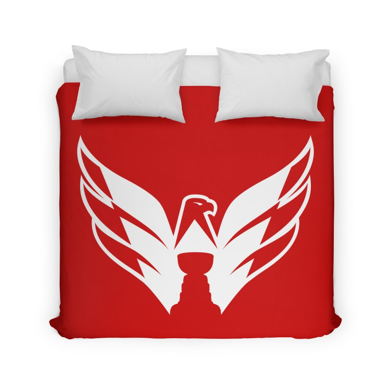 Eagle Cup Home Duvet by 804jason's Artist Shop