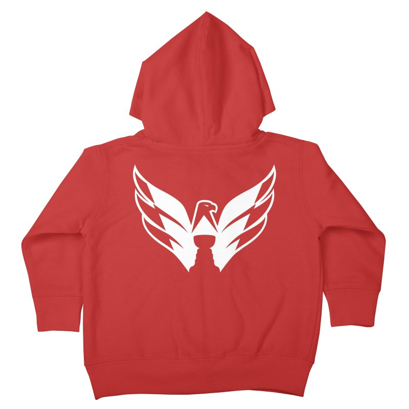 Eagle Cup Kids Toddler Zip-Up Hoody by 804jason's Artist Shop