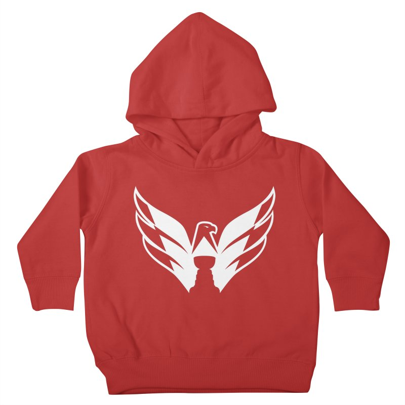 Eagle Cup Kids Toddler Pullover Hoody by 804jason's Artist Shop