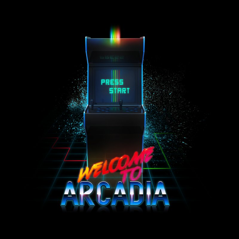 Arcadia Men's T-Shirt by 80's Pixels's Shop